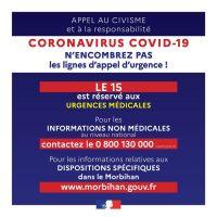 Covid 19 - Continuité du service public